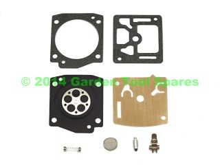 HUSQVARNA 365 JONSERED 2065 STIHL 020 ZAMA CARBURETTOR REPAIR KIT / DIAPHRAGM / GASKET SET