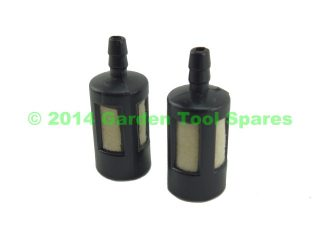 2X FUEL TANK FILTER 2MM 2.5MM 3MM STRIMMER CHAINSAW HEDGE TRIMMER