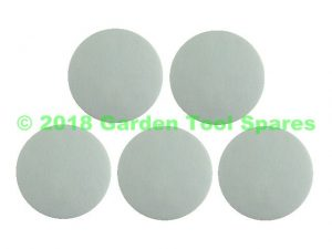 DYSON DC04 DC05 DC08 DC19 DC29 POST MOTOR LID FELT FILTER PAD SET OF 5