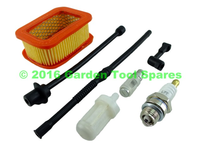 Carburetor Air Filter Spark Plug Kit Fits 4500 5200 5800 Chinese Chainsaw BBT